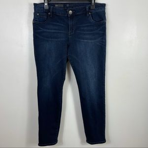 Kut From The Kloth Skinny Jeans size 14P blue